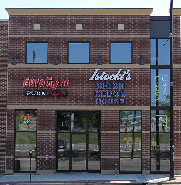 Akron Small Eurogyro Modern european restaurant, bar & grill, pizza place. akron small eurogyro